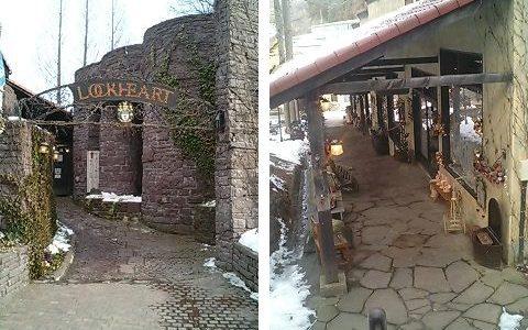 大理石村ロックハート城 イギリスから移築復元された本物の古城!