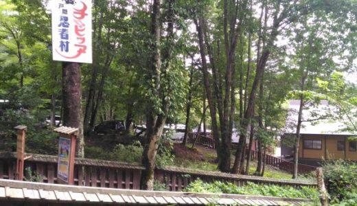 長野県戸隠「チビッ子忍者村」子供が忍者になれる!大人は…池に落ちる!