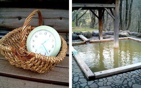 角神温泉ホテル角神 茶褐色でぬるめの温泉が魅力