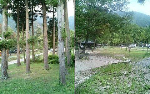 五十沢キャンプ場 私の初ファミリーキャンプの地