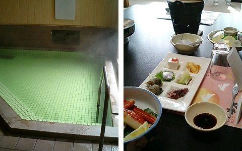 ボリュームあり味良しの料理 月岡温泉「村上館湯伝」