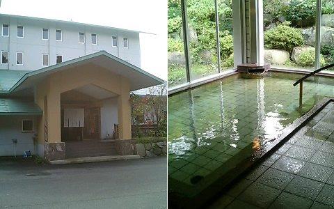 村杉温泉 風雅の宿長生館 ラジウム含有量が日本有数の温泉!