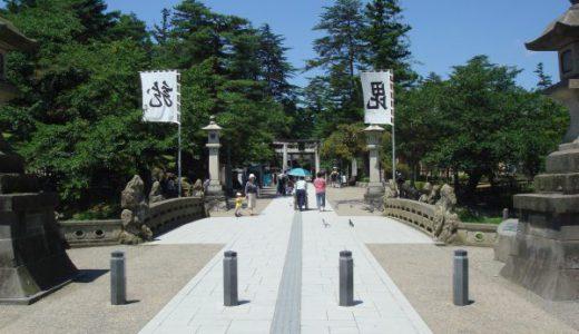 上杉謙信公御祭神「上杉神社」 そして「松岬神社」