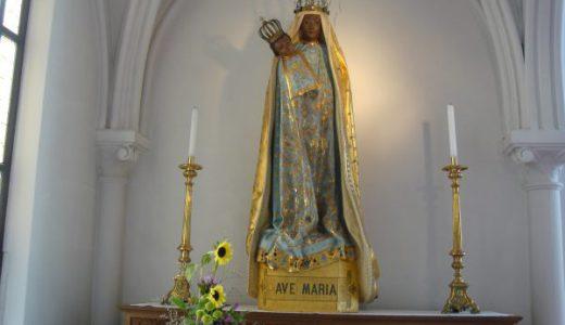 鶴岡カトリック教会「天主堂」 日本国内唯一の黒い聖母マリア像~鶴岡天満宮