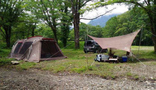 戸隠キャンプ場 快適で涼しい思い出の8月!…となるはずでした