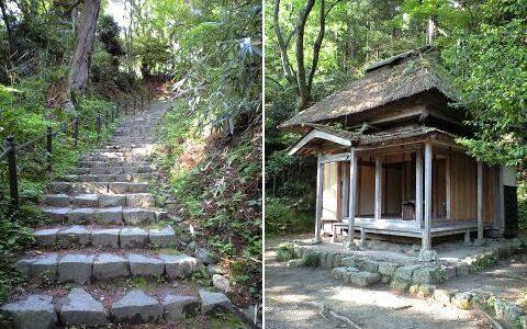 良寛様ゆかりの五合庵と本覚院そして乙子神社