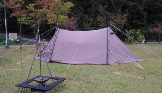 【滝谷森林公園】誰もいないキャンプ場を独り占め