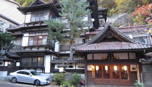 台温泉中嶋旅館 宮大工建築の建物が素晴らしい