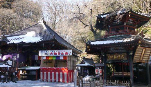 水澤観世音「鐘が打てる!お地蔵様を回せる!伊香保温泉にも近いお寺だよ!」