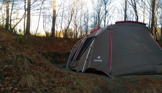 フォレストパークあだたらでまさかの強風撤収!恐怖を感じたクリスマスキャンプ
