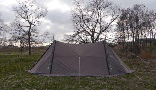 福島潟でキャンプ!新潟県で3月から営業してる数少ない場所です♪