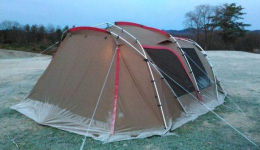 ランドロックが凍った日「キャンプは冬が最高と気づいた」