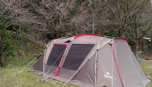 滝谷森林公園キャンプ場 川側と山側、どっちを選ぶ?