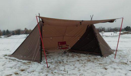初ソロキャンプが雪中で大丈夫? in スノーピークHQ