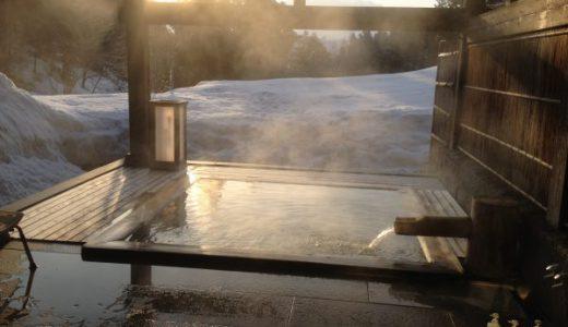 雪深い大沢山温泉大沢館に再びやってきた♪