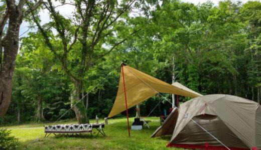 灼熱の夏キャンプを快適に過ごすには高地に行くしかない! in 笹ヶ峰キャンプ場