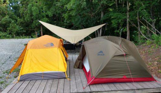 キャンプ場でサイト内別居がついに実現! in 斑尾高原キャンピングパーク