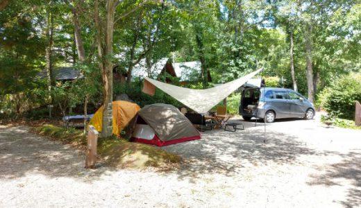 標高500mの快適な2泊3日の夏キャンプ in 猪苗代湖モビレージ