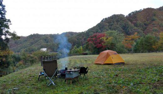 キャンプに静寂を求めるなら迷わずここ!内ノ倉ダム「水谷公園」