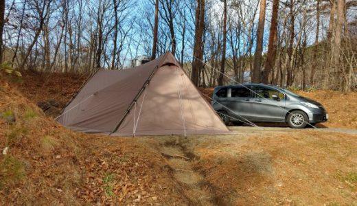 【フォレストパークあだたら】冬でも快適なサイトで2年連続のクリスマスキャンプ!