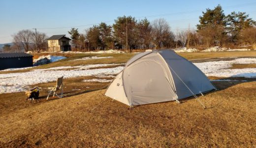 4人用テント【ムラコニンバス4P】をインナーテントなしのソロで使ってます