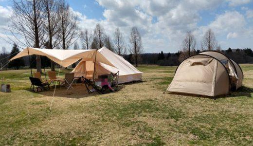 スノーピークHQ「Dサイトの特徴とは?」キャンプ場の一番端にある静かなサイト