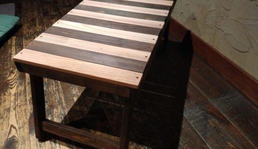 キャンプテーブルを材料費3,000円以下で自作「折り畳み式でブラックデザインハレテーブル風に」